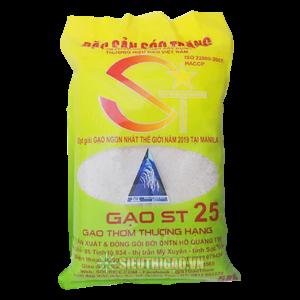Gạo ST25 - Gạo ngon nhất thế giới