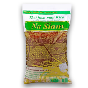 Gạo Thái Hom Mali Na Siam túi 5kg